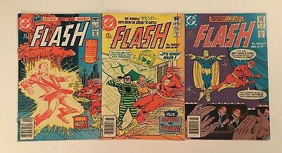 Lot Of Old DC Comics Flash