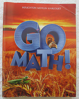 2 Go Math workbooks for Grade 2 home school tutor extra practice - missing pages