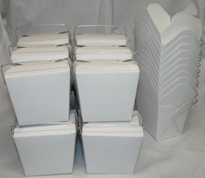 Chinese Take Out To go Food Boxes: 16 oz. (1 Pint) Lot Of 50 - food container