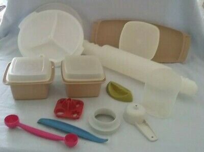 "Tupperware Rolling Pin 'chill & fill"" vintage"