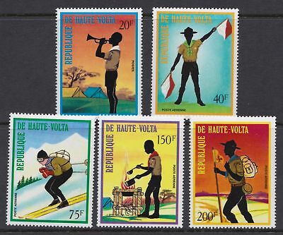Upper Volta 1973 Scouting Issue - Boy Scouts - MNH set  - (317)