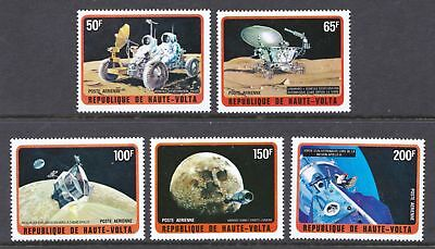 Upper Volta 1973 Airmail - Exploration of the Moon - SPACE - MNH set  - (318)