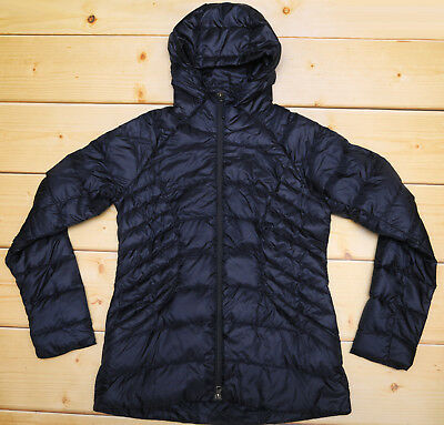 THE NORTH FACE TONNERRO HOODIE PARKA - DOWN insulated WOMEN'S NAVY JACKET - M