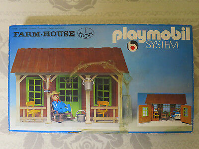 Playmobil 3427 Farm-House Klicky rar MIB OVP komplett
