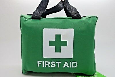 First Aid Kit Bag Medical Emergency 90 Piece  Travel Home Car Taxi Workplace