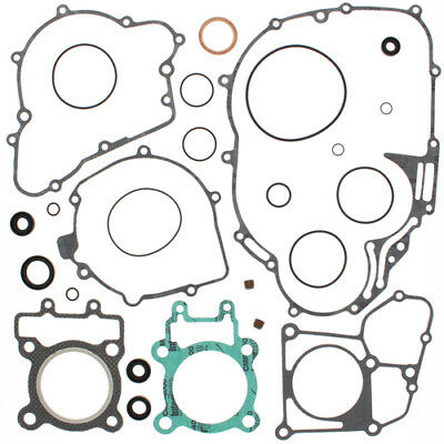 Complete Gasket Kit with Oil Seals For Kawasaki KLF220 Bayou 1988 - 2002 220cc