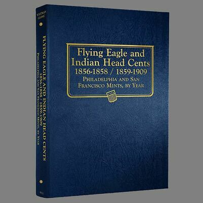 Whitman US Flying Eagle/Indian Head Cent Coin Album 1856-1909 #9111