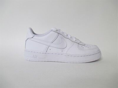 Nike Air Force 1 Low All White Everything GS Grade School Sz 7 314192-117