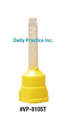 Defend T-Mix Mixing Tips Yellow 4.2mm Pkg/48 MFG#: VP-8105T