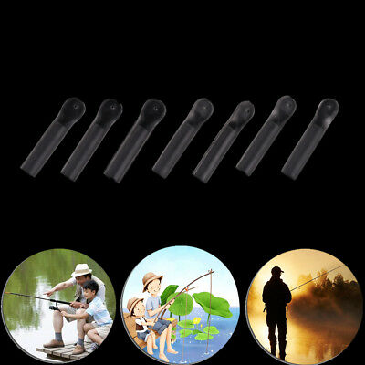 Carp fishing silicone quick change fishing tackle clear waggler float adaptors-/