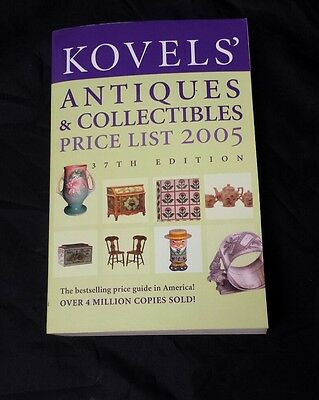 Kovels Price Guide: Antiques & Collectibles Price List 2005, Ralph Kovel, Book