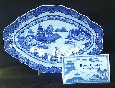 Mottahedeh Blue Canton Bowl 10 3/4 *NEW*
