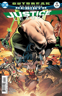 JUSTICE LEAGUE #10 1st Print (WK49.16)