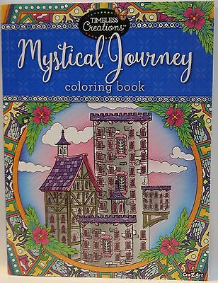 Timeless Creations Adult Coloring Mystical Journey Book 64 pages