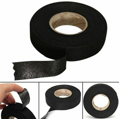 Tape Adhesive Cloth Fabric Wiring Loom Harness 51608 19mm For Seat
