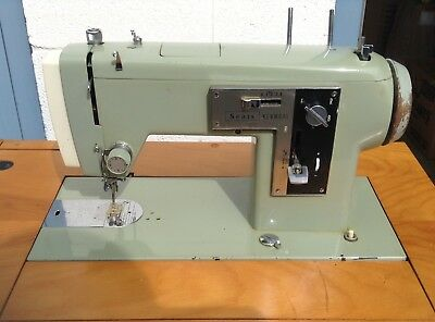 Vintage Sears Kenmore Sewing Machine with Cabinet Table - LOCAL PICKUP ONLY