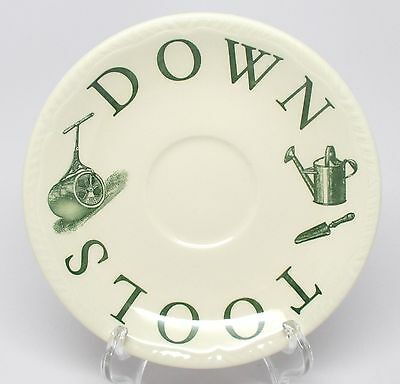 Wood & Sons - The Kitchen Garden - Green - Saucer - Made in England