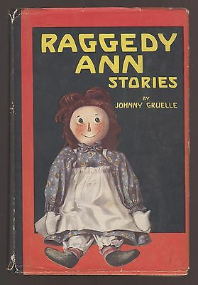 RARE VG 1930s Vintage OLD HC in a DJ Raggedy Ann Stories by Johnny Gruelle