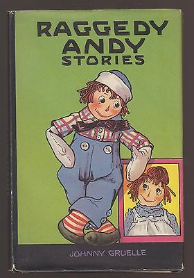 RARE VG 1930s Vintage OLD HC in a DJ Raggedy Andy Ann Stories by Johnny Gruelle