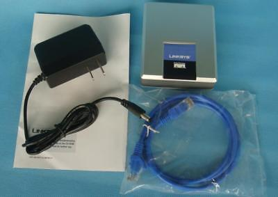 Linksys Unlocked SPA1001 VoIP Analog Telephone Adapter 1 Port FXS SIP VoIP NEW