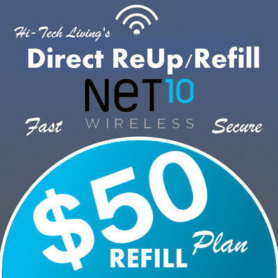 $50 NET10 FASTEST ONLINE REFILL 25yr USA TRUSTED DEALER