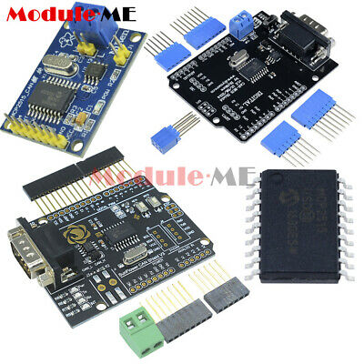 CAN Bus Shield Receiver MCP2515 TJA1050 EF02037 SPI Controller IC for Arduino