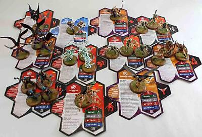 WOTC HeroScape Loose Figure Wave #6 - Dawn of Darkness - Complete Set! NM