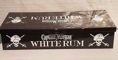 Captain Morgan White Rum Bar Ware MISSING SMALL WHITE TRAYS FOR GARNISHES