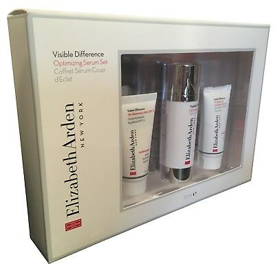 Elizabeth Arden Visible Difference Optimizing Serum Set 3 Piece