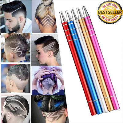 Hair Engraving Shaver Pen Professional! With 10 Blades