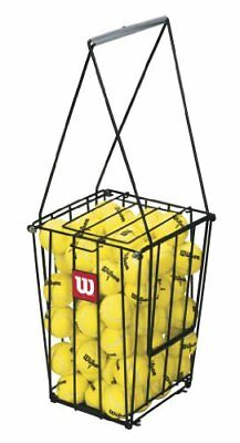 Wilson 75 Tennis Ball Pick Up Hopper Portable with Stand Basket Equipment New