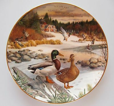 The Mallard 2nd Issue Plate in Living With Nature: Jerner's Ducks 1986 Knowles