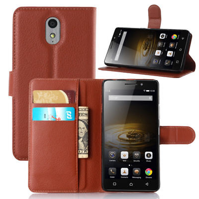 For Lenovo Vibe P1m 5.0 Luxury Flip Wallet PU Leather Case Stand Cover Case Skin