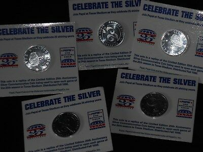 Pepsi Celebrate Aluminum Coins On Card You Get Them All Check Out All Xmas Items
