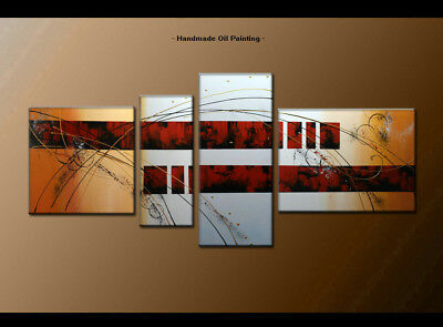 Framed Large Wall Art Handmade Canvas Modern Abstract Oil Painting Decor BS1338