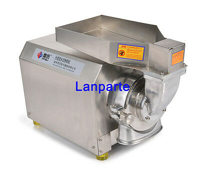 Universal Pulverizer Continuous Feeding Dry Herbs Grinder Fine Pulverizing 220V