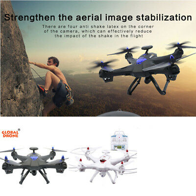 Global Drone 6Axis X183 1080P WiFi FPV Camera GPS Quadcopter Helicopter