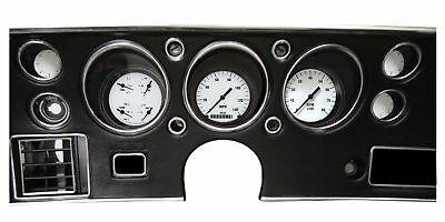 1970-1972 Chevy Chevelle Direct Fit Gauge White Hot CV70WH