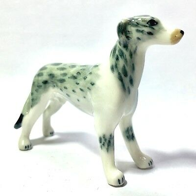 Miniature Stand Up Greyhounds Dog Statue Animal Figurine Collectibles Decor New