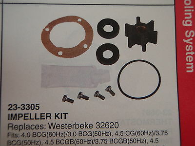 Westerbeke Generator Parts  Sierra Impeller Kit 23-3305 Replaces 32620 See List
