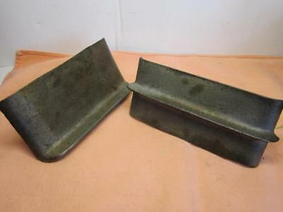 Vintage Pair of Concrete/Cement Tools #2 Edger & #1 Center Groover Old Ones