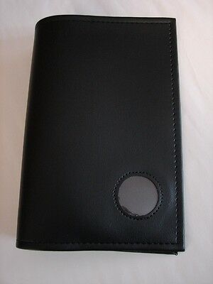 Alcoholics Anonymous AA Big Book Black Cover with Medallion Holder Coin Token