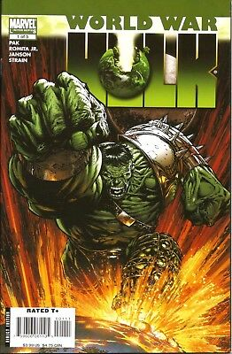 World War Hulk # 1 / Pak/romita Jr / Marvel Comics / Aug 2007 / 1St Print / N/m
