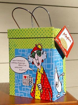 Maxine Floyd Empty Metal Tin by Hallmark .. There's No Salesclerk To Yell At