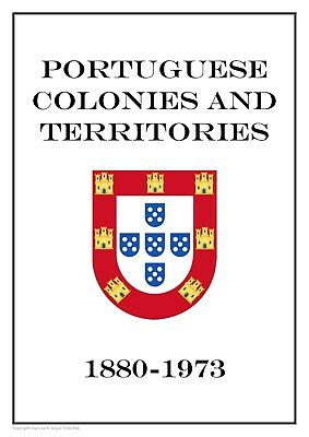 Portuguese Colonies and Territories  1880-1973 PDF(DIGITAL) STAMP ALBUM PAGES