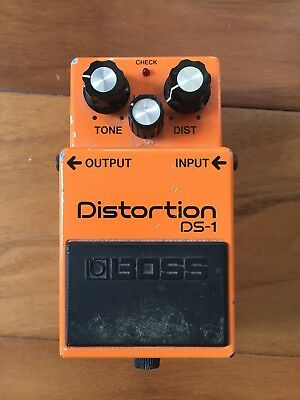 Boss DS-1 Distortion Guitar Effect Pedal Made in Japan April '83
