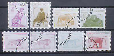 Somalia Somali Animal Stamps 1998