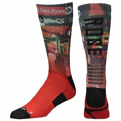 half off d3175 f7c76 new mens L adidas basketball crew Socks sublimated d/derrick rose chicago