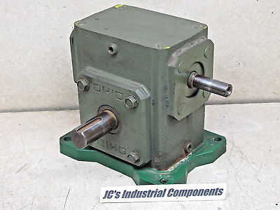 Ohio Gear,   60:1 Ratio,  Gear Reducer,  Shaft Drive,   610 Inch Pounds,  B2206