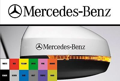 For Mercedes-Benz - 2 x Wing Mirror - CAR DECAL STICKER  - 95mm long